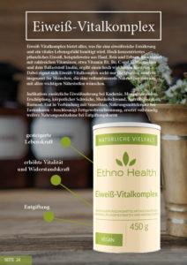 Eiweiß Vital-Komplex von Ethno Health auf Kraftqeulle Yoga und Ayur Yogatherapie Deutschland