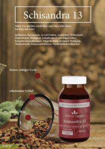 Schisandra 13 TCM Produkt auf Kraftquelle Yoga und Ayur Yogatherapie Deutschland