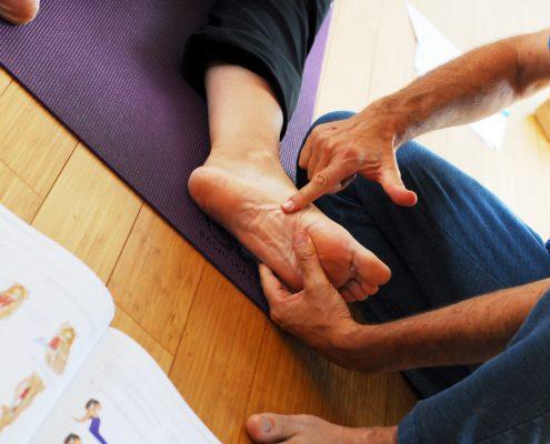 wo genau liegt der Punkt um der gewünschten Muskelkette wieder ihre ursprünglichen Möglichkeiten zu verschaffen