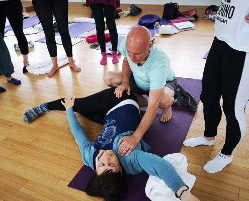 Ayur Yogatherapie Ausbildung - wie finde ich die optimale anatomische und spiraldynamische Ausrichtung damit ich genau die Wirkung haben werde die ich möchte?