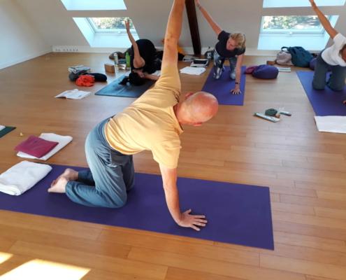 Ayur Yogatherapie Ausbildung, Alignement und funktionelle Anatomie, Sthira Sukha